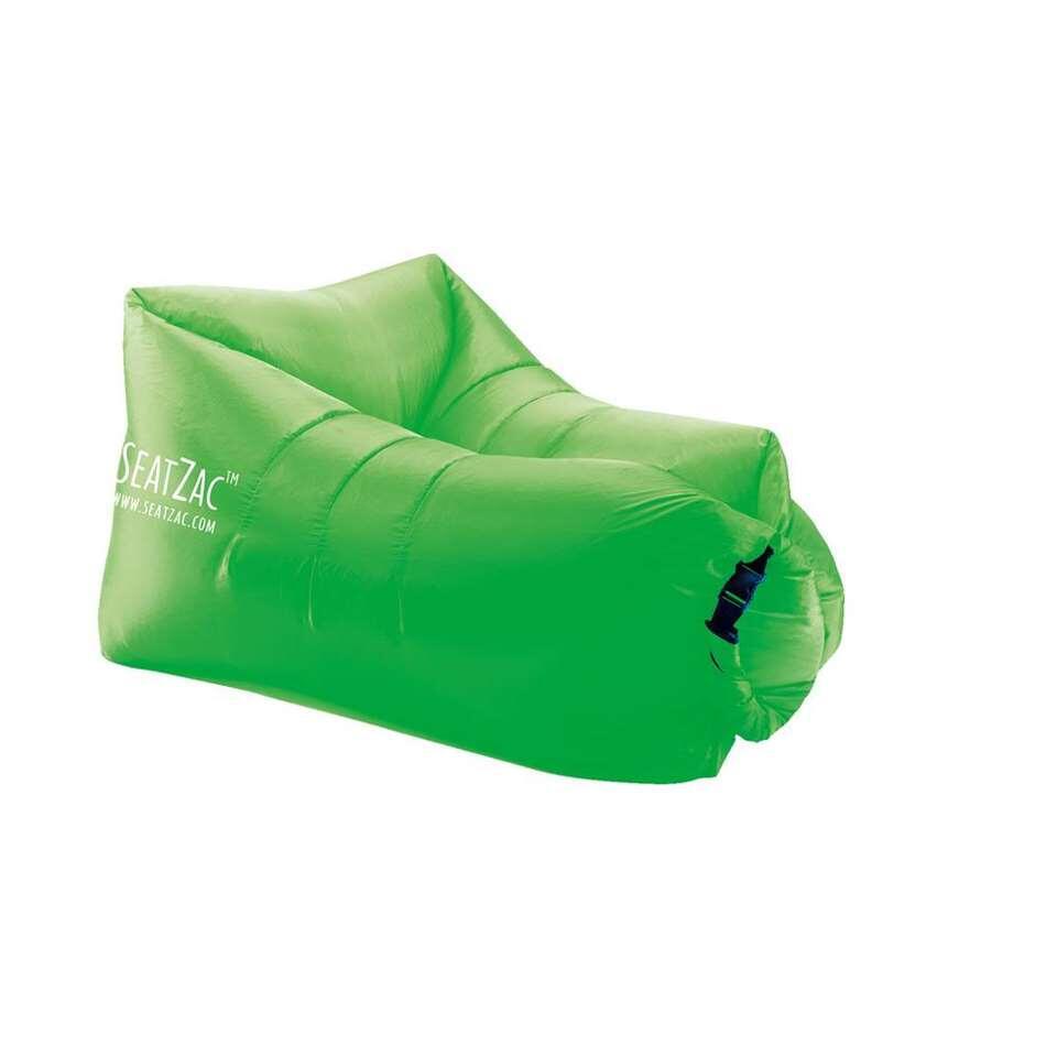 SeatZac zitzak - olive green - 34x19x13 cm - Leen Bakker