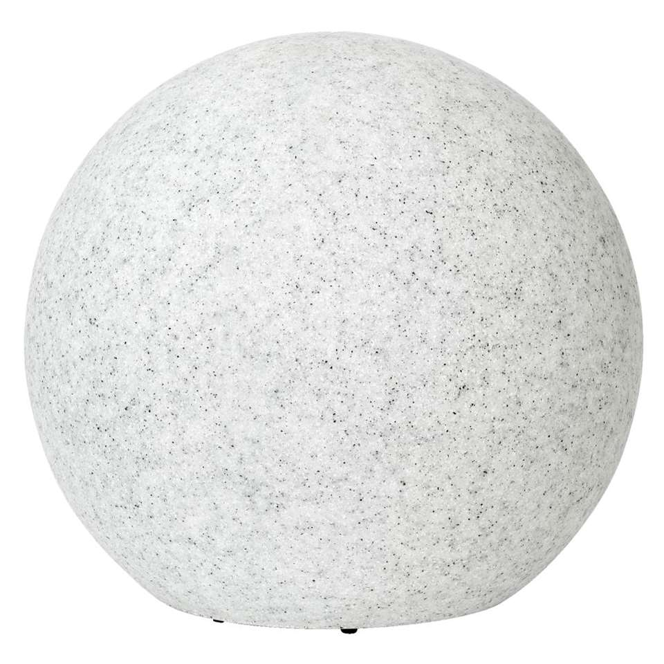 Lamp Dax – Ø40×38 cm – lichtgrijs – Leen Bakker