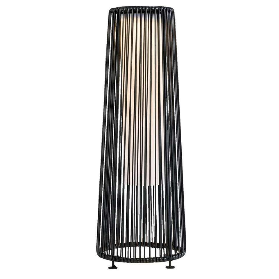 Le Sud lamp Pau - zwart - 16/21,5x61 cm - Leen Bakker