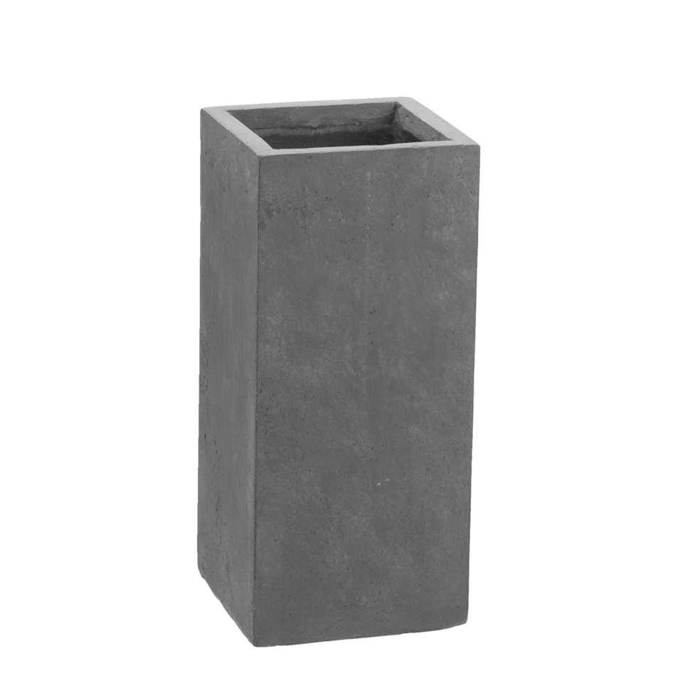 Bloempot Rechthoek - 23x23x50 cm - Leen Bakker