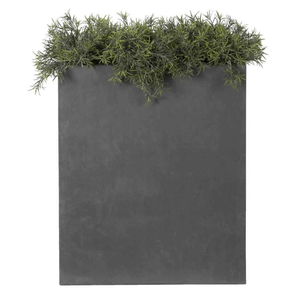 Bloempot Divider - granietkleur - Leen Bakker