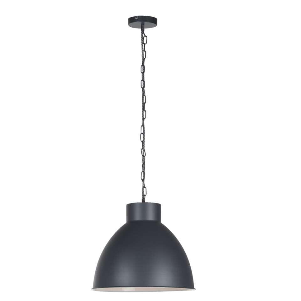 Leen Bakker Hanglampen.Hanglamp John Grijs Wit