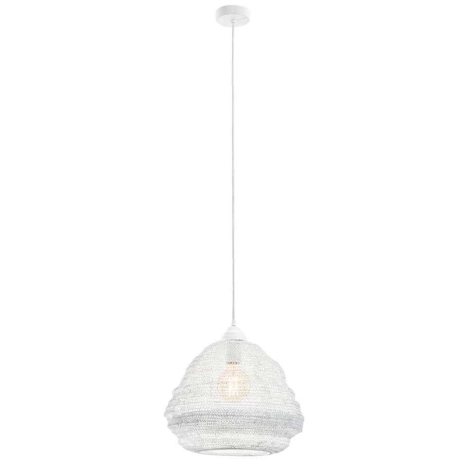 Hanglamp Niels - wit - 38 cm