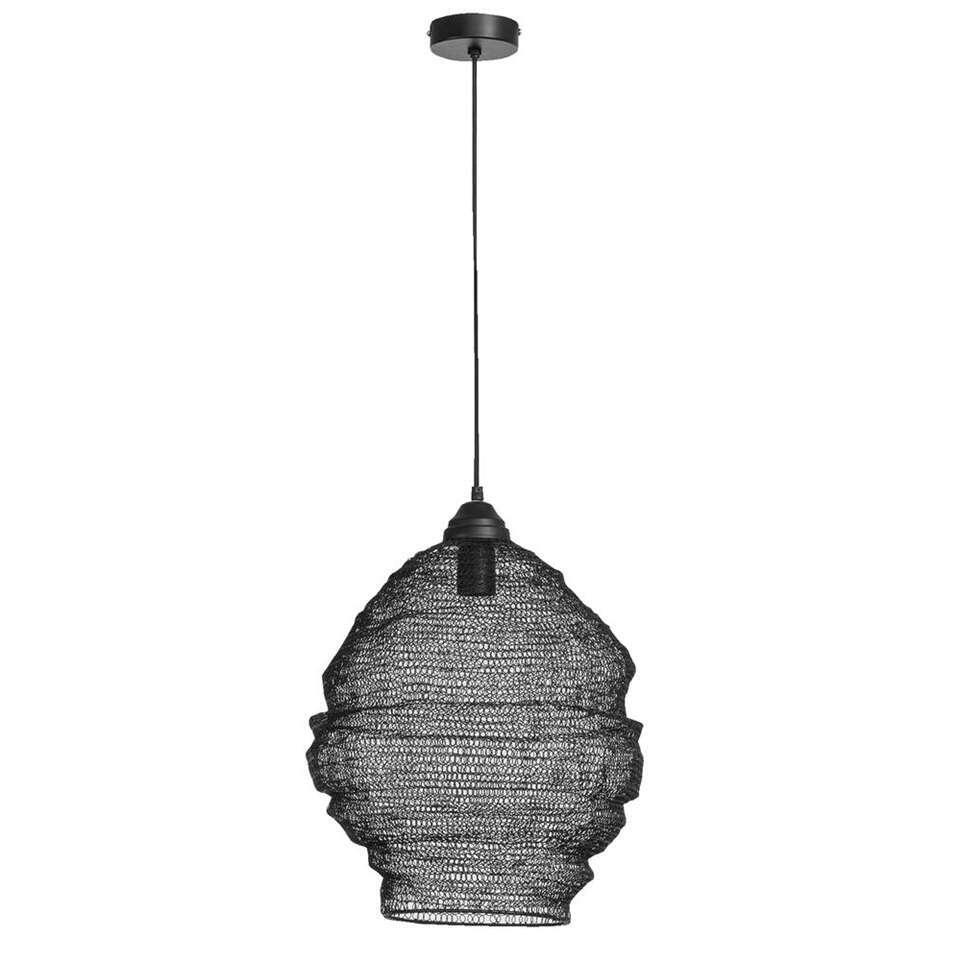 Hanglamp Niels - zwart - 38x42 cm