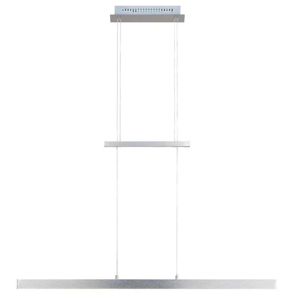 Hanglamp Oxford LED - satin - 90/150x12x100 cm