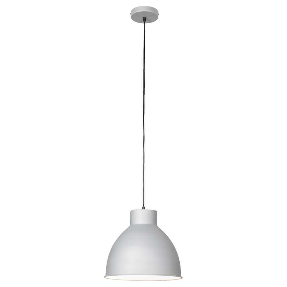 Hanglamp Seppe - zilvergrijs - Leen Bakker
