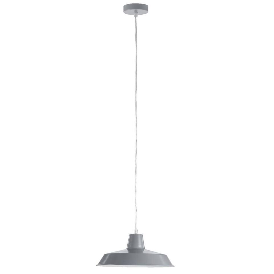 Hanglamp Imola - grijs - Ø31,5x19 cm - Leen Bakker