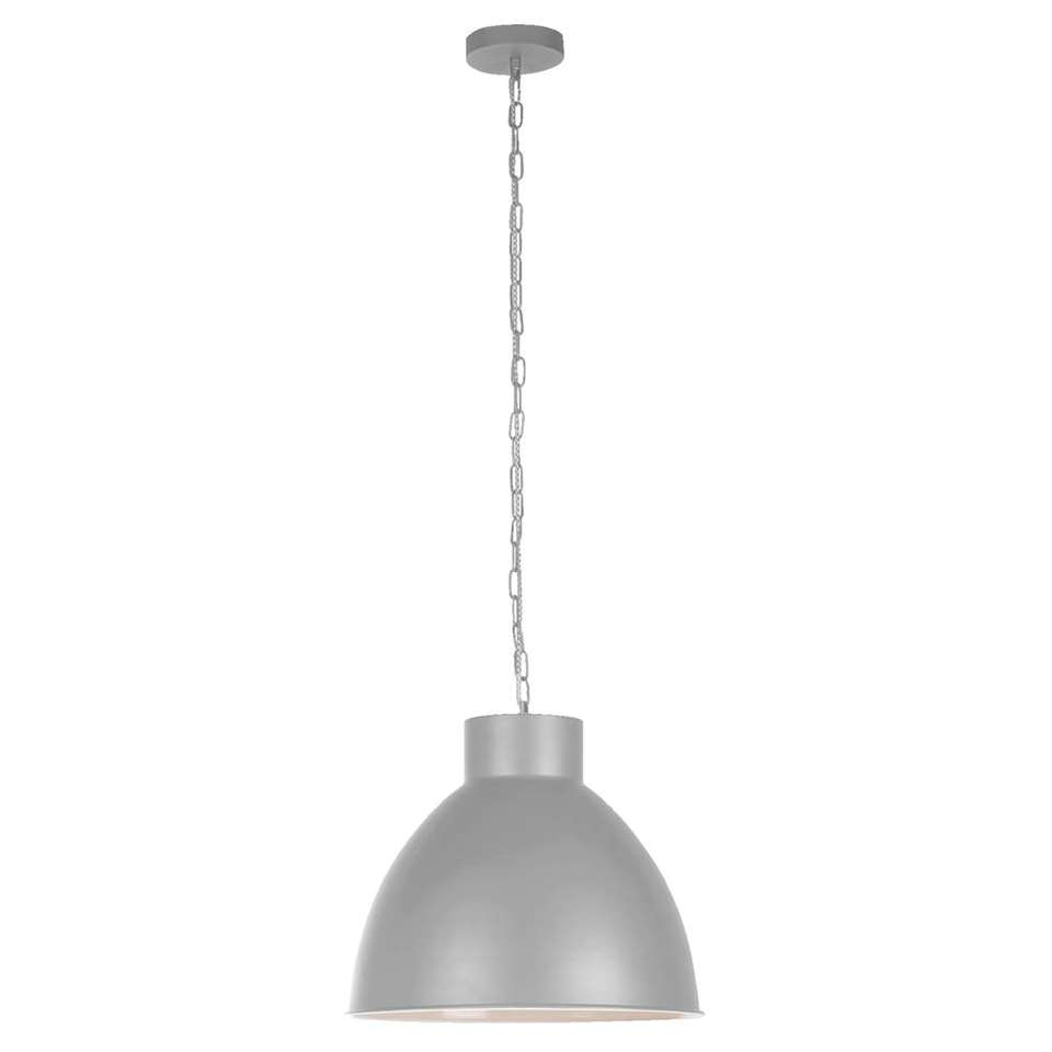 Hanglamp John - lichtgrijs - Leen Bakker