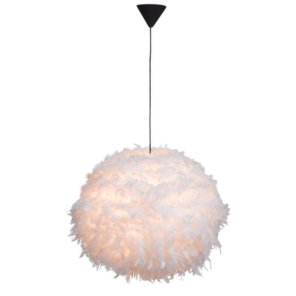 Hanglamp Veerle – wit – 165×50 cm – Leen Bakker