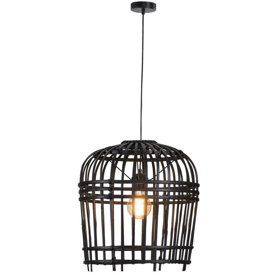 Hanglamp Denpasar - zwart  - 47x50 cm