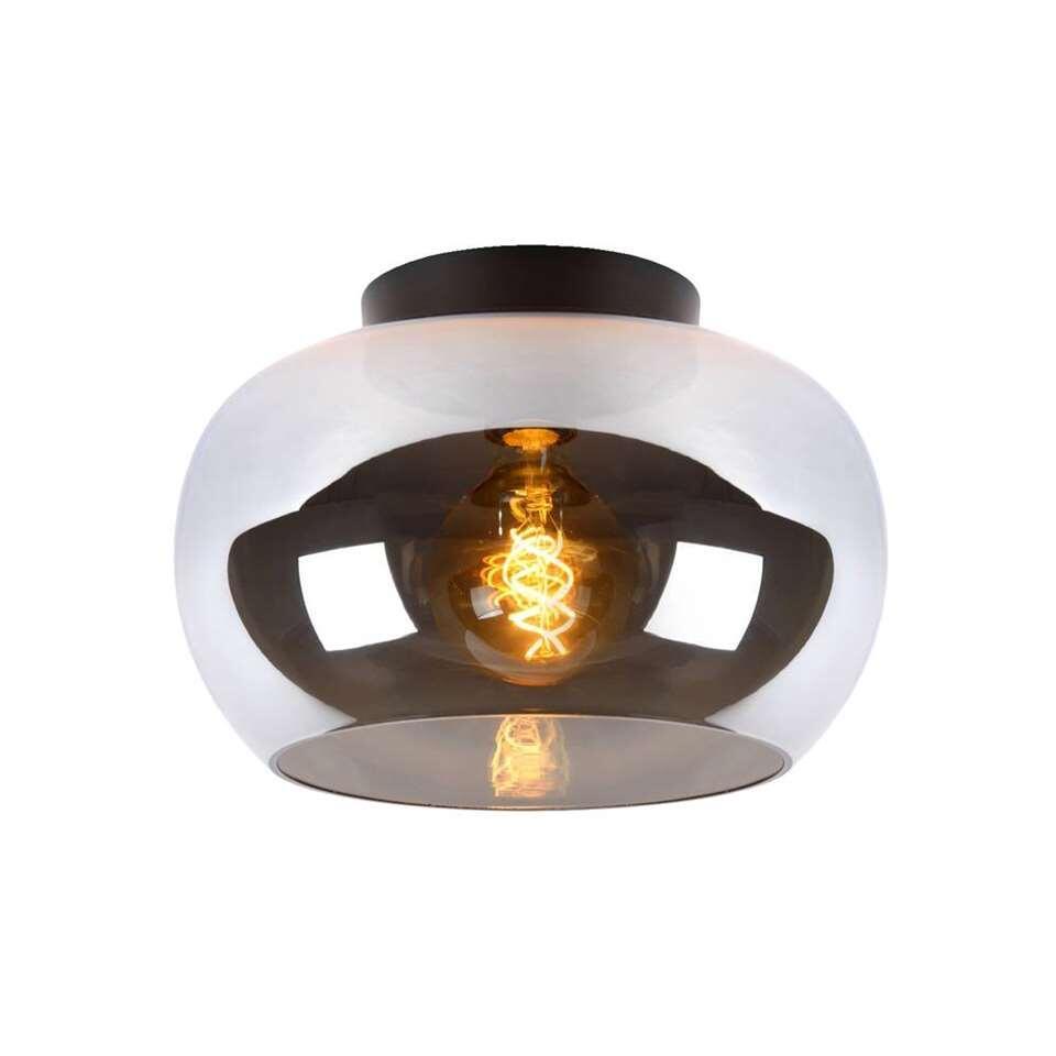 Plafondlamp Zimmer - grijs - 25x30x30 cm