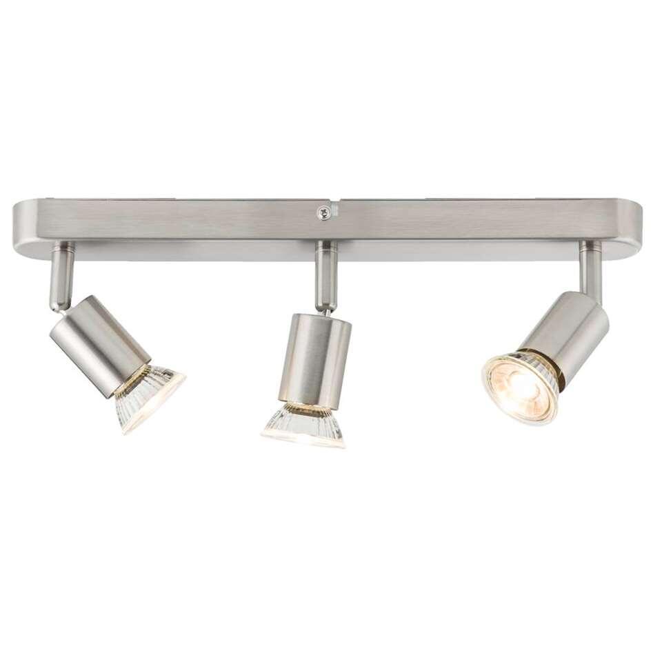 3-spot Basic lang - zilverkleur