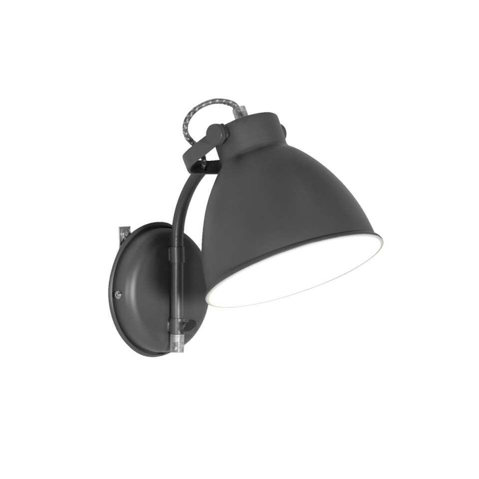 Wandlamp John - grijs