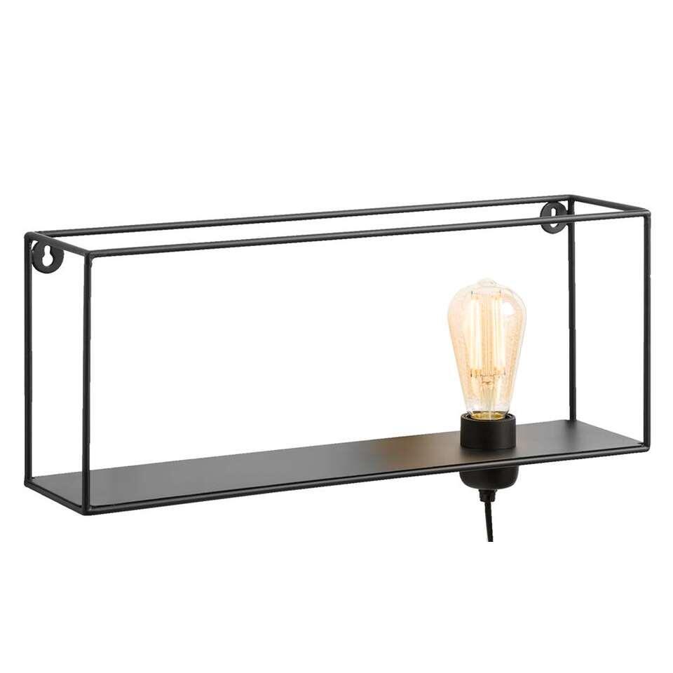 Wandlamp Dresden - zwart - Leen Bakker