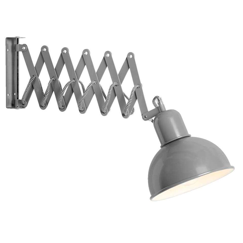 Wandlamp Edgar - grijs - Leen Bakker