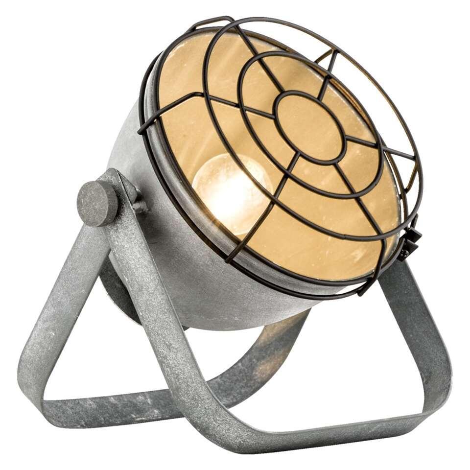 Tafellamp Victor – cementkleur – Leen Bakker