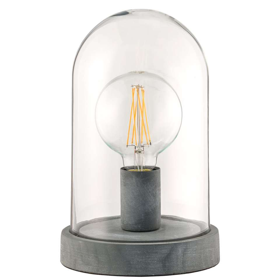 tafellamp levi cementkleur