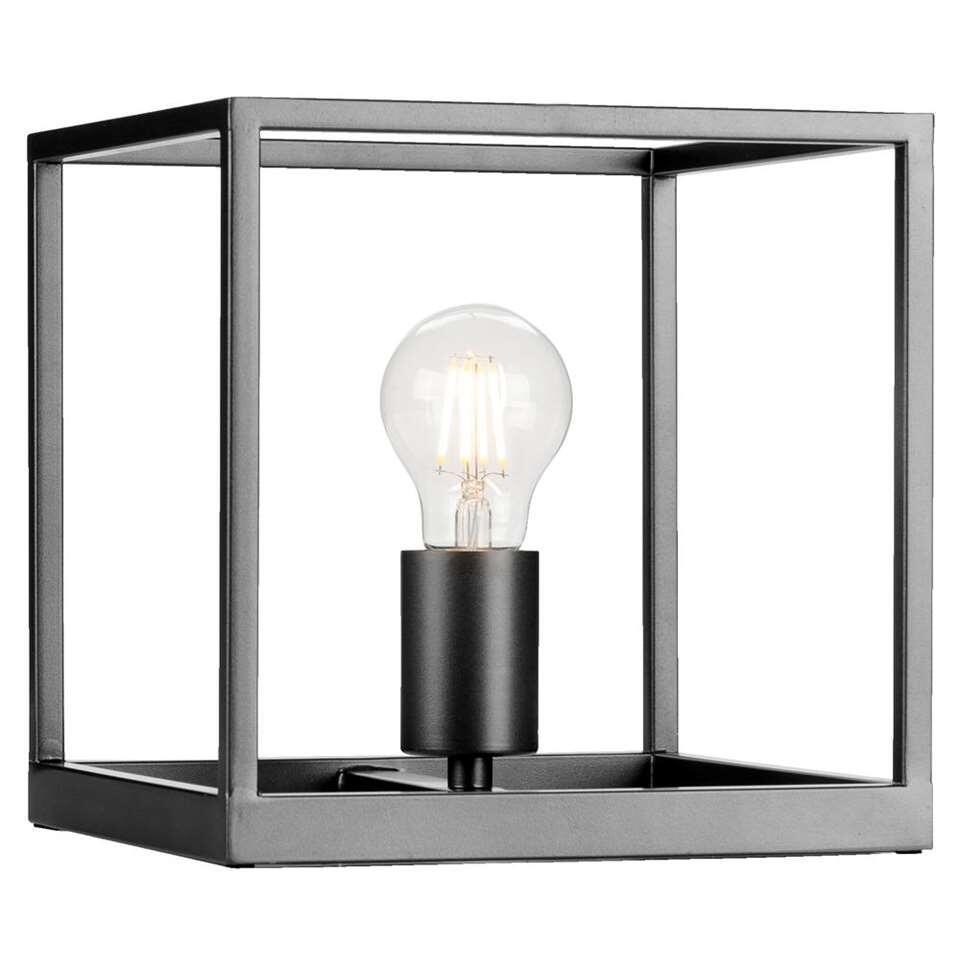 Lucide tafellamp Arthur is een metalen lamp met een stoere en eigentijdse look. Deze lamp geeft een sfeervol en prettig licht.