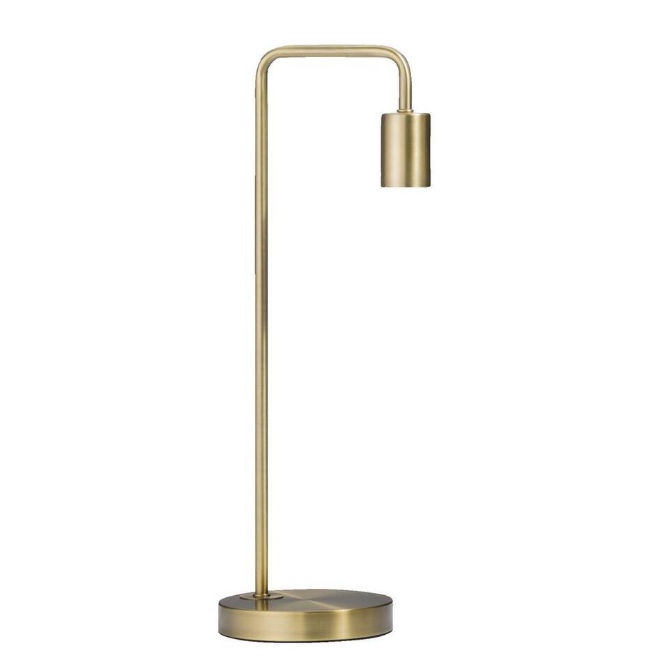 Tafellamp Grieg - bronskleurig - 50x15x20 cm - Leen Bakker