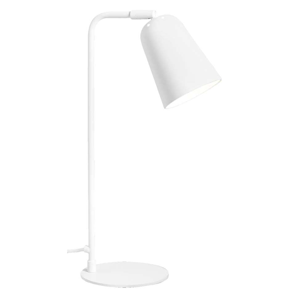Tafellamp Turijn - mat wit