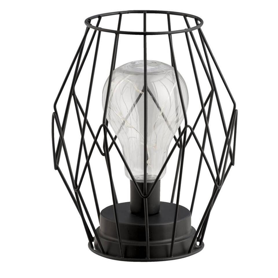 Tafellamp Pascal - zwart