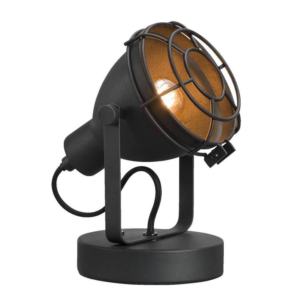 Tafellamp Do - zwart - 12 cm