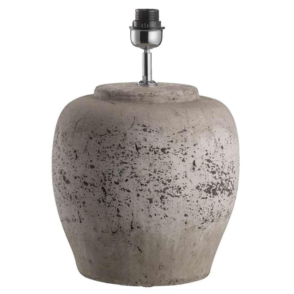 Voet Tafellamp Sofie - antiek grijs - 40,5x30 cm