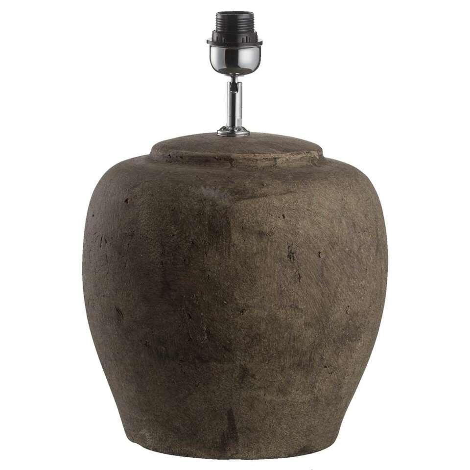 Voet Tafellamp Sofie - grijs/groen - 40,5x30 cm