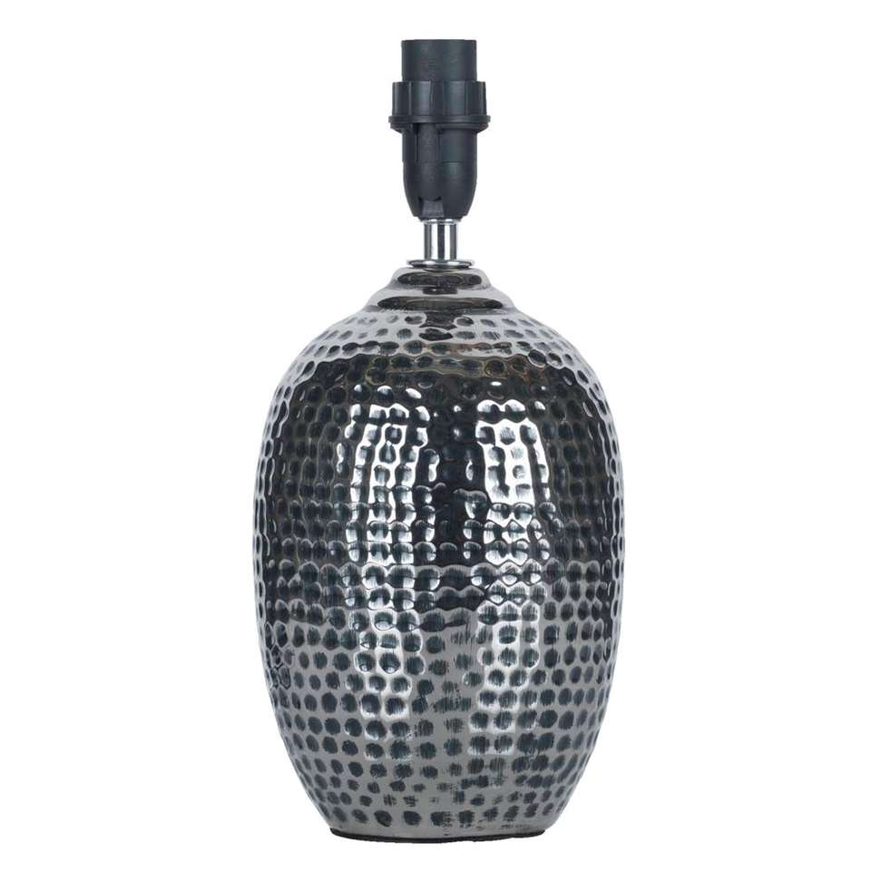 Bekend Voet tafellamp Hammer - zilverkleurig - 21,5 cm JY21
