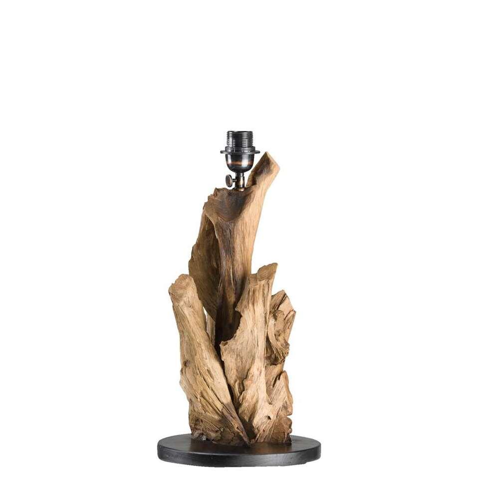 Voet tafellamp Jakarta - bruin - 25x50 cm