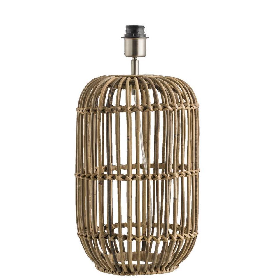 Voet tafellamp Java - naturel - 25x40 cm