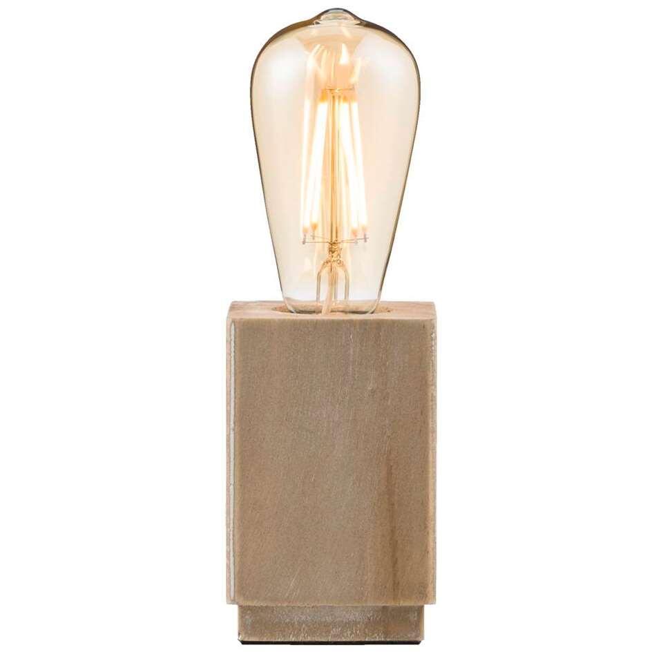 Tafellamp Vintage - bruin - 25x8x8 cm - Leen Bakker
