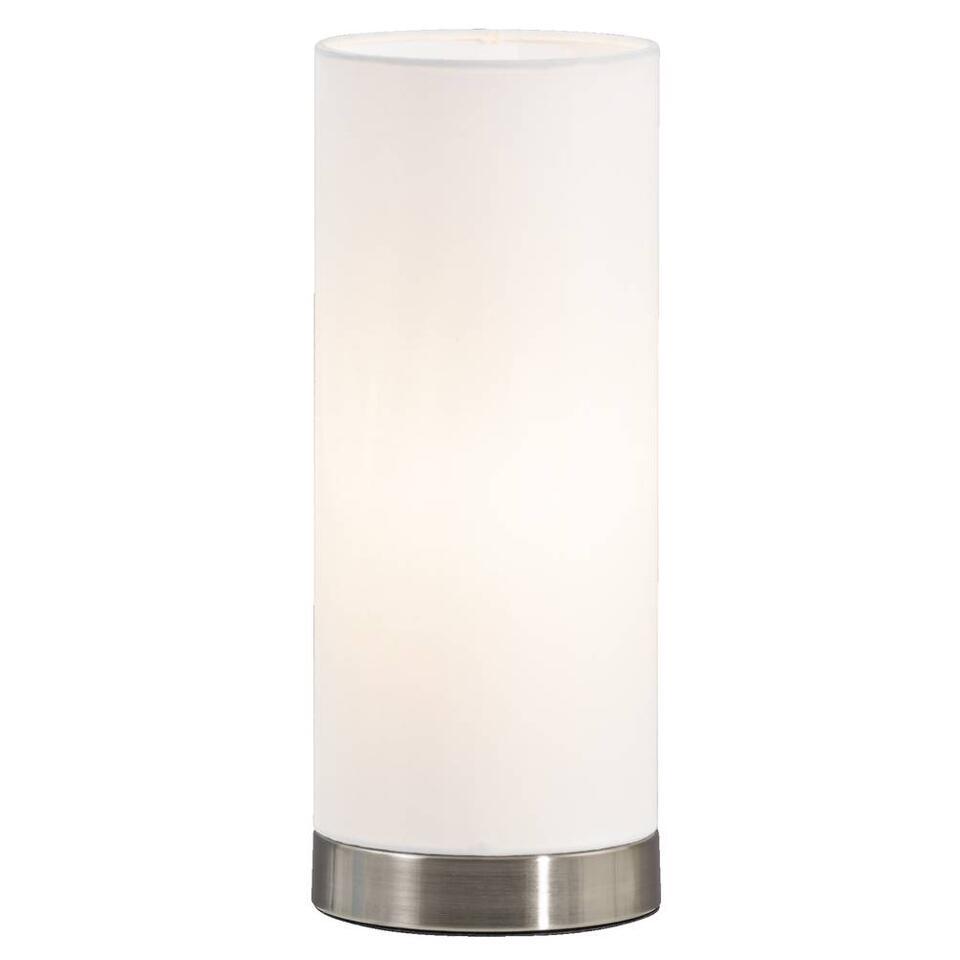 Tafellamp Fabric - wit - 12x30 centimeter