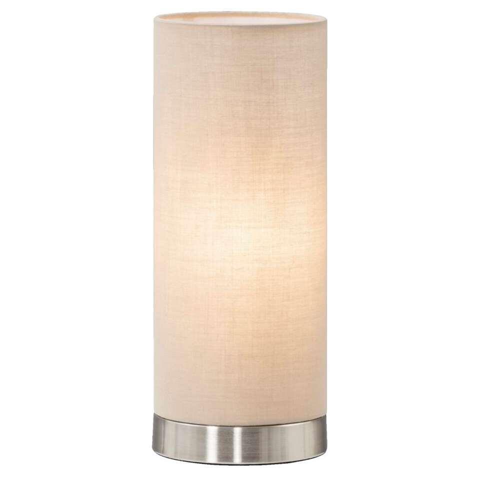 Tafellamp Fabric – taupe – Leen Bakker