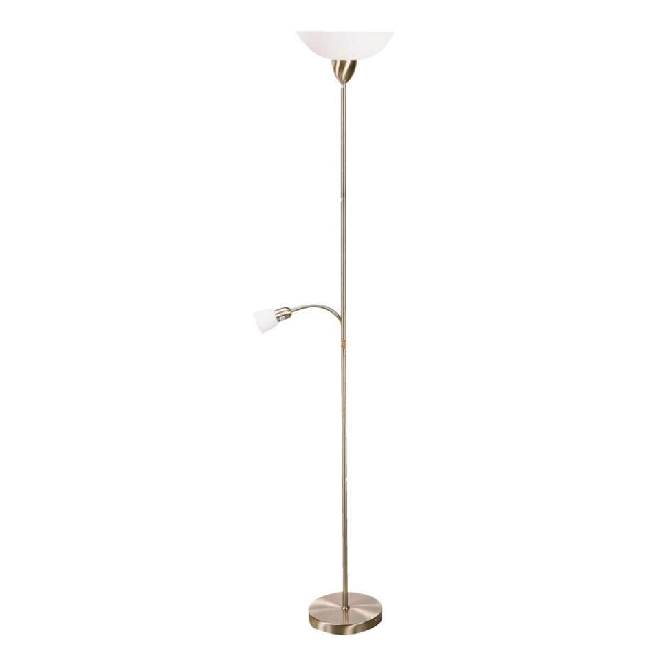 Vloerlamp Darlington - brons - Leen Bakker