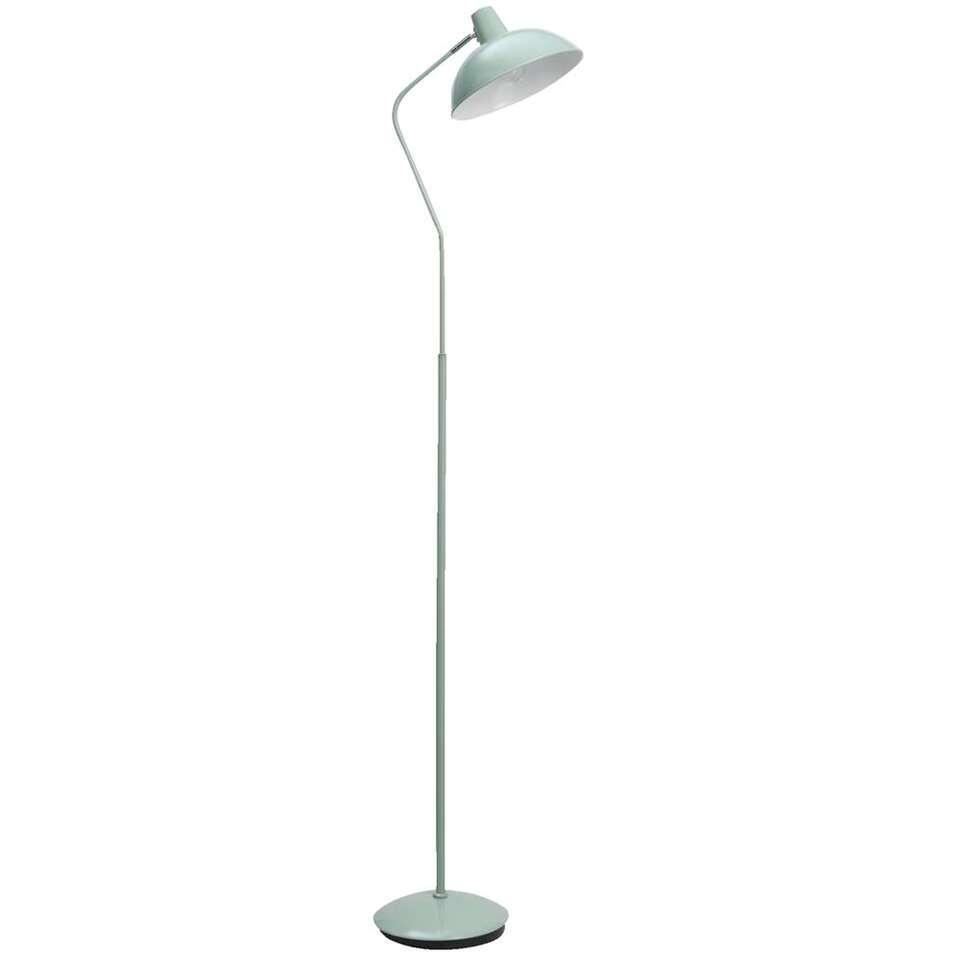 Vloerlamp Aken - groen - 155x23x32 cm - Leen Bakker