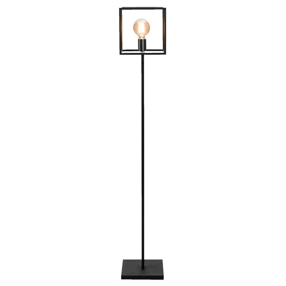Vloerlamp Arthur - zwart - metaal - Leen Bakker