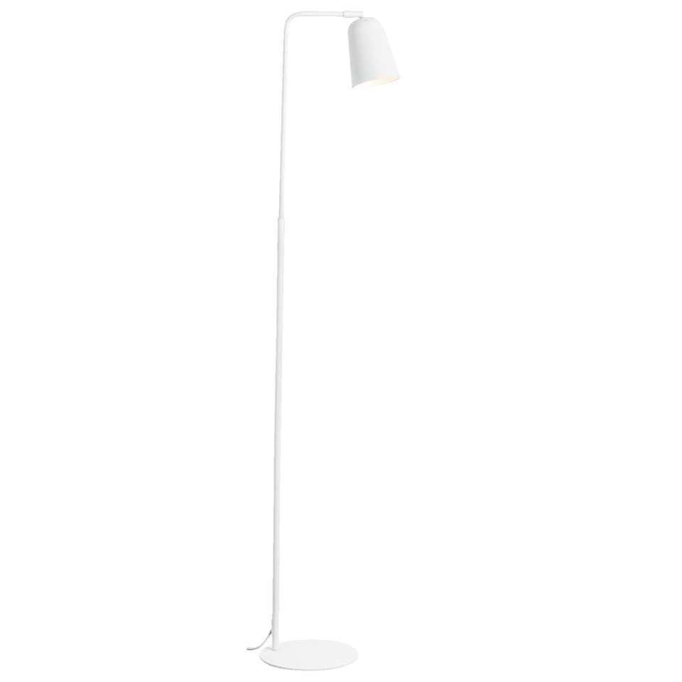 Vloerlamp Turijn - mat wit