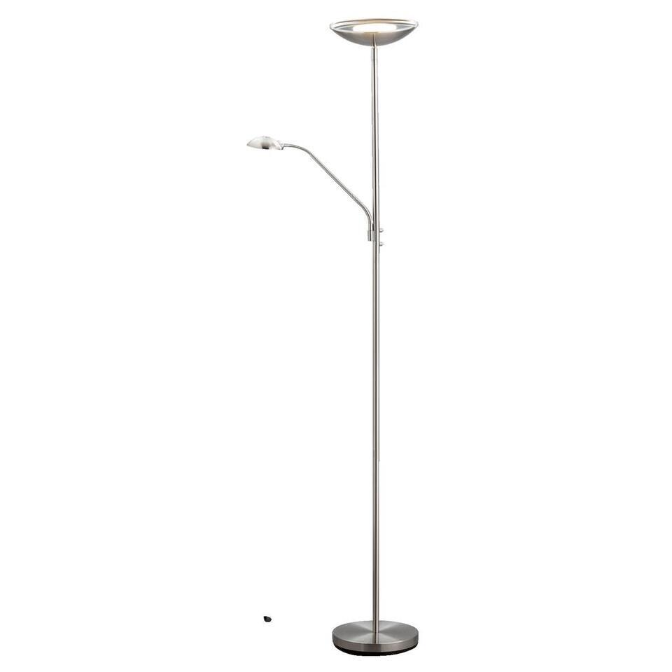 Vloerlamp Reims - mat chroom - 24,5x180 cm