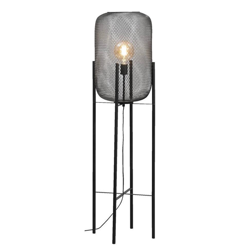 Vloerlamp Meknes - zwart