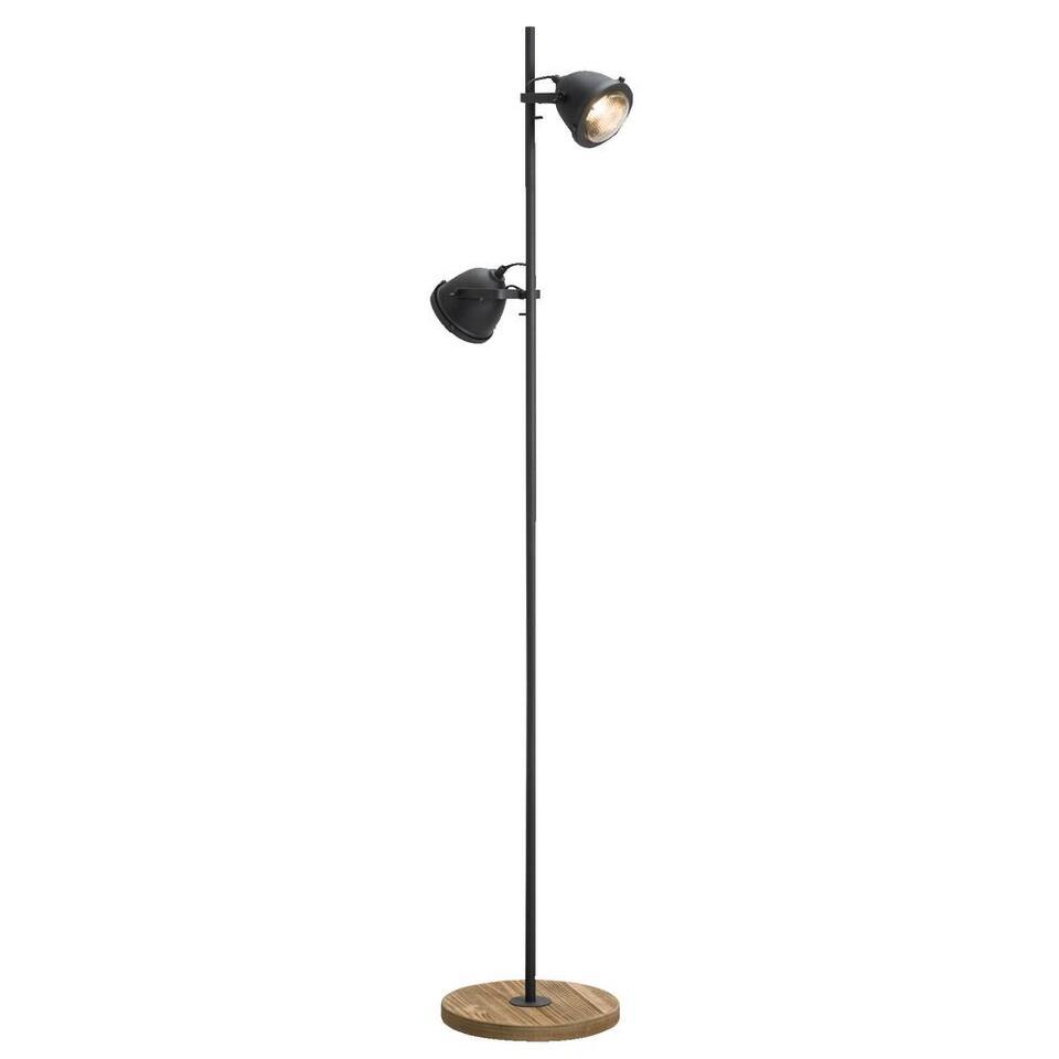 Vloerlamp Siem - zwart - 28x153 cm