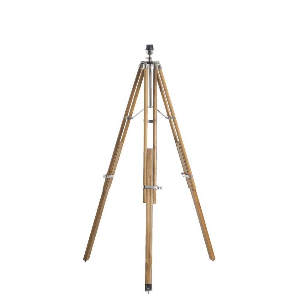 Voet vloerlamp Roan - bruin - 160 cm - Leen Bakker