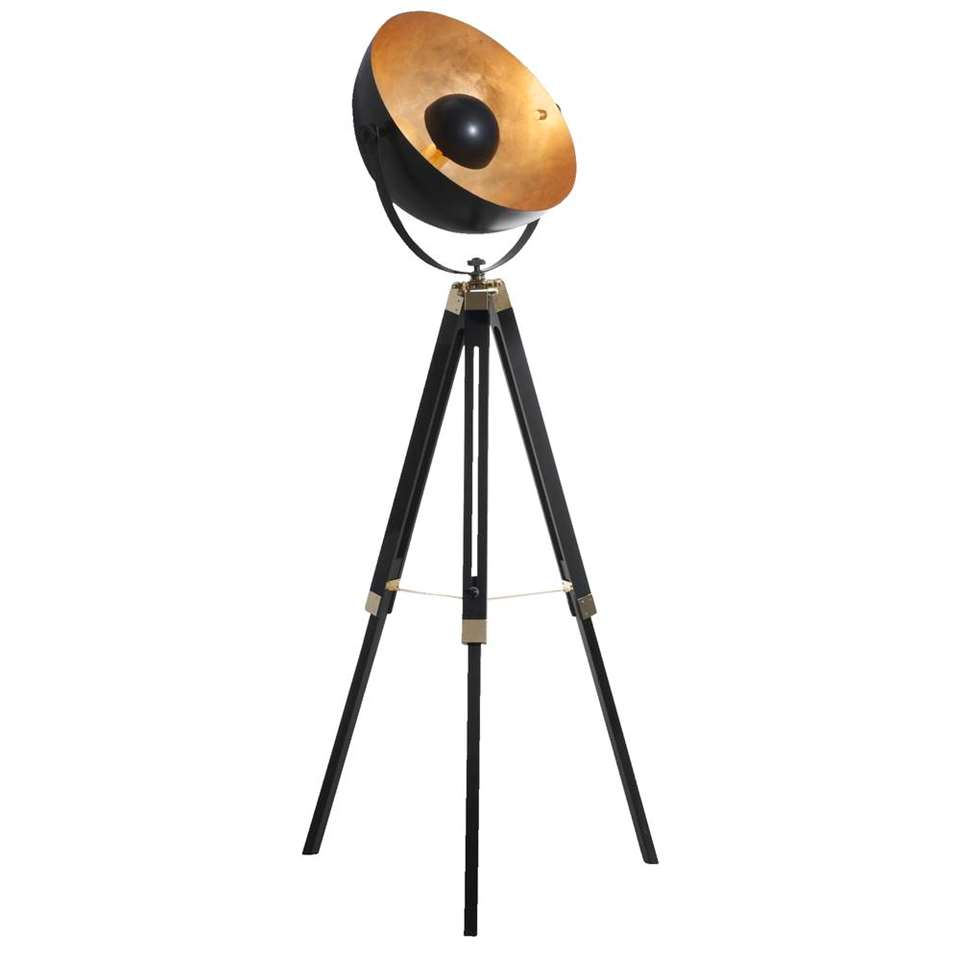 Vloerlamp Covaleda - bronskleurig - 164 cm - Leen Bakker