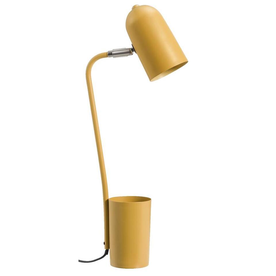 Bureaulamp Vaduz - okergeel