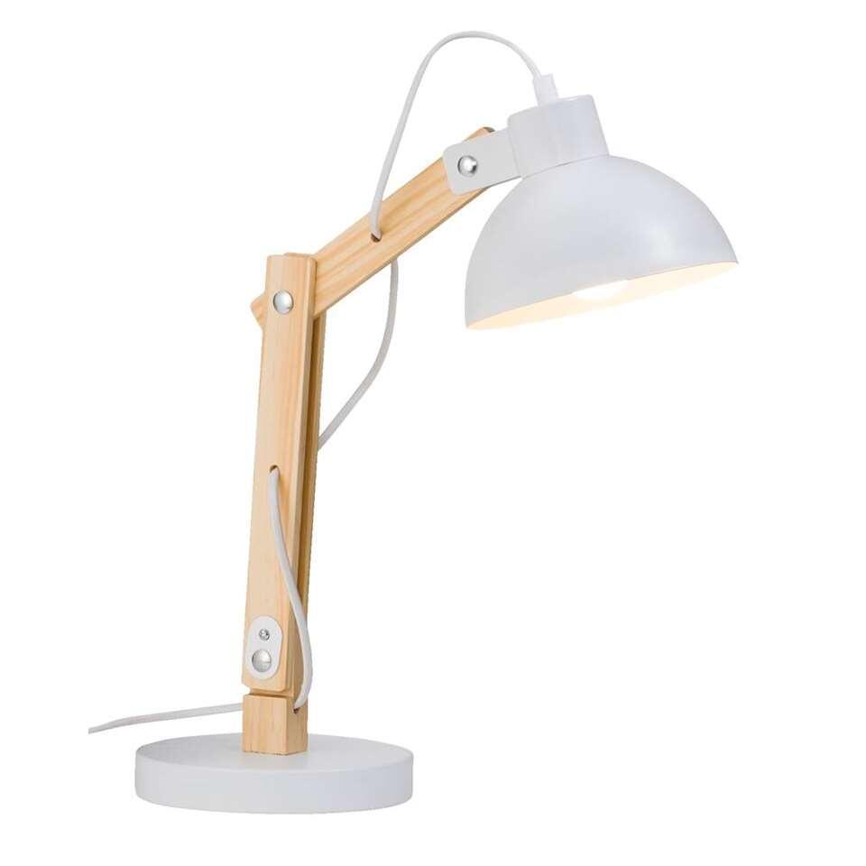 Bureaulamp Graz - wit - 18x27x33 cm