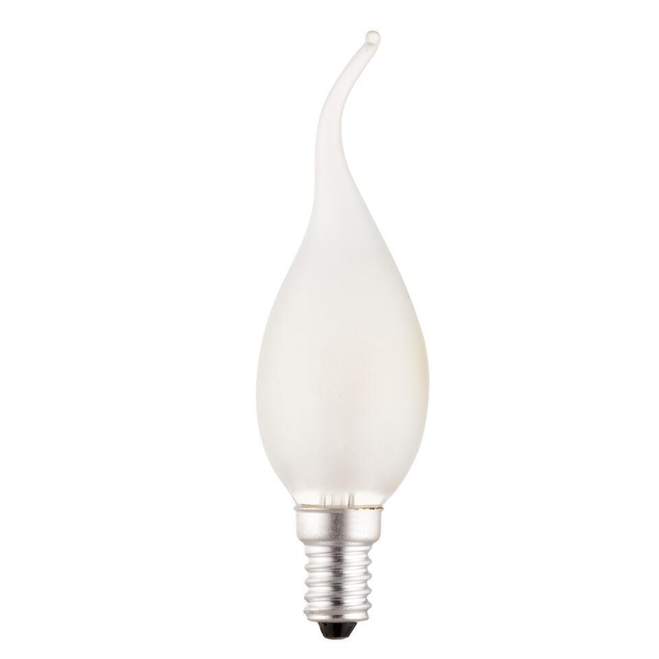 Calex tip kaarslamp 10W E14 - mat