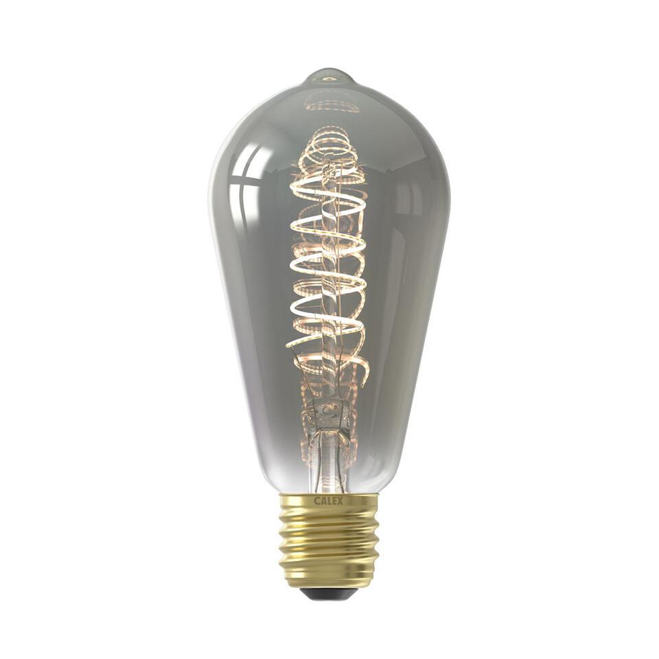 LED rustieklamp - titaniumkleur - 4W-E27