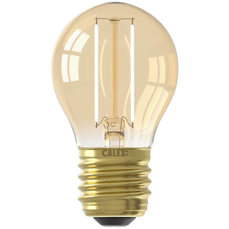 Calex LED kogellamp 240V 2W E27 - goud