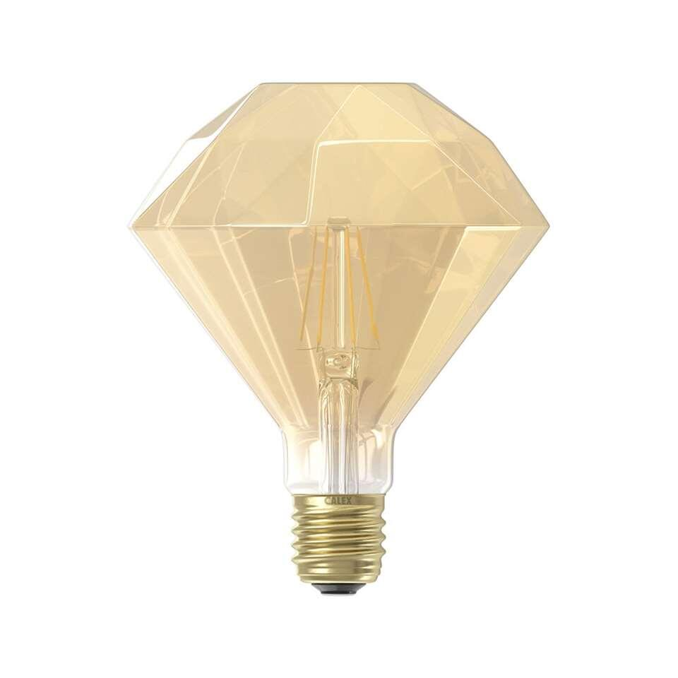 Calex LED diamantlamp 240V 4W E27 - goud