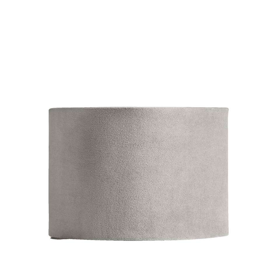 Kap Cilinder – grijs – Ø25×18 cm – Leen Bakker